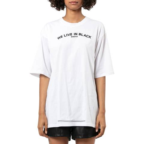 Religion White Loose Fit T-shirt