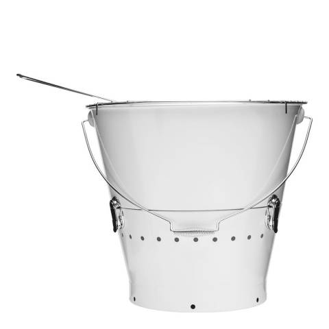 Sagaform Large White Bucket Grill