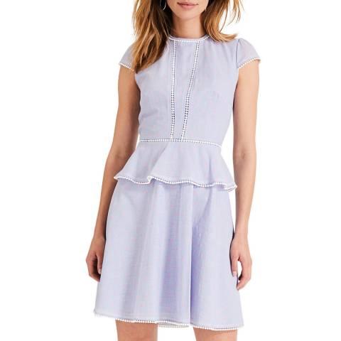 Damsel In A Dress Blue/Pink Elmira Cotton Dress