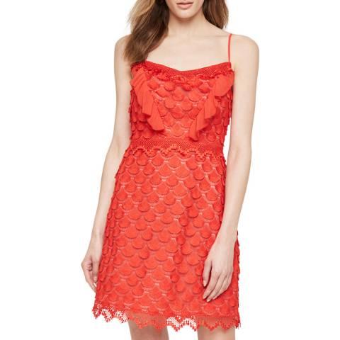 Damsel In A Dress Red Breana Lace Dress