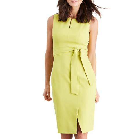 Damsel In A Dress Lime Mira Belted Dress