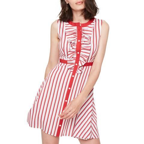 Damsel In A Dress Red/White Pascal Stripe Dress