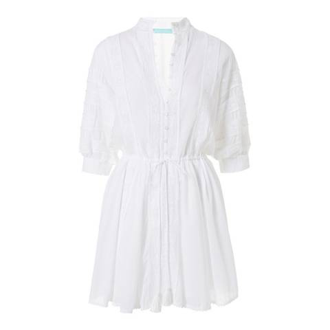 Melissa Odabash White Rita Short Dress