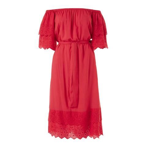 Melissa Odabash Red Dee Long Dress