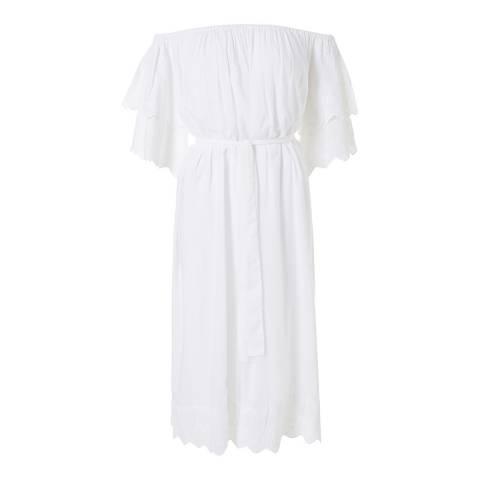 Melissa Odabash White Dee Long Dress