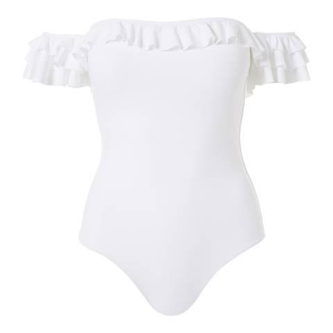 Melissa Odabash White Lima Swimsuit