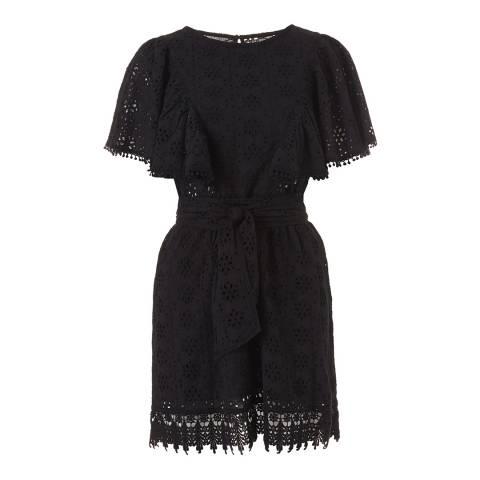 Melissa Odabash Black Kara Short Dress