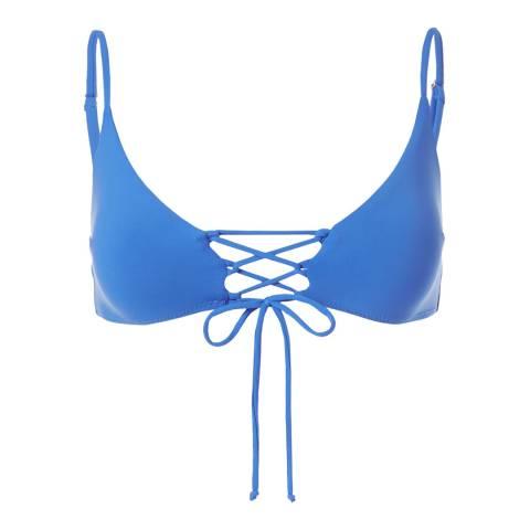 Melissa Odabash Royal Blue Marrakech Top