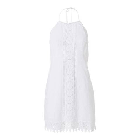 Melissa Odabash White Poppy Mini Dress