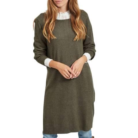 VILA Forest Night Knit Dress