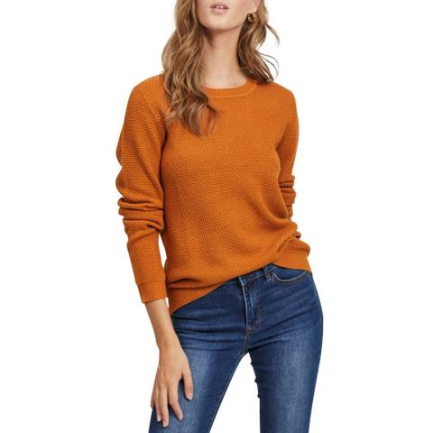 VILA Pumpkin Spice Knit Top