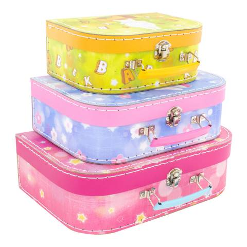Ulysse Set of 3 Bunny Suitcases