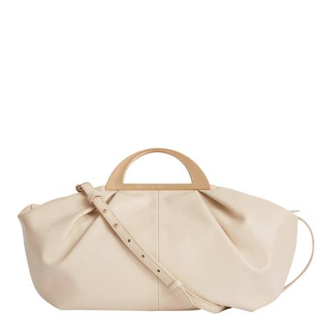 Reiss Off White Janina Leather Bag