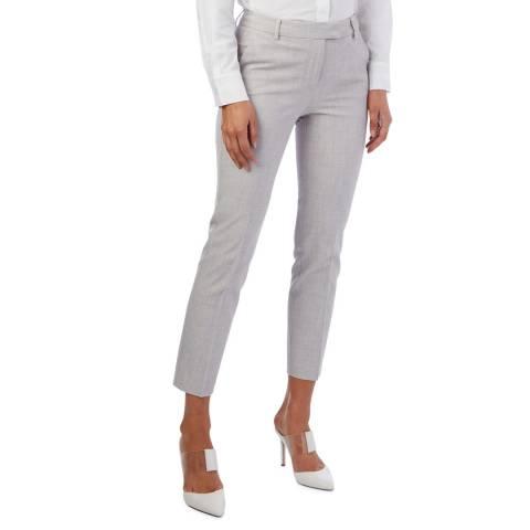 Reiss Grey Jess Slim Stretch Trousers
