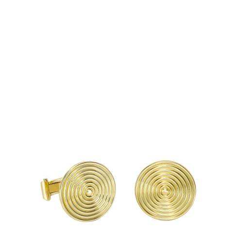 Theo Fennell 18ct Yellow Gold Whip Disc Cufflinks