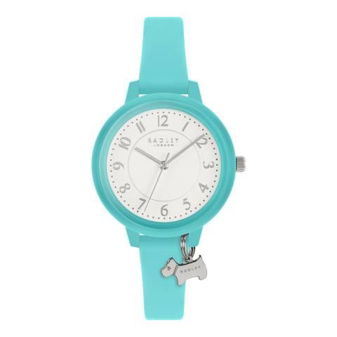 Radley Aqua Watch It! Silicone Watch