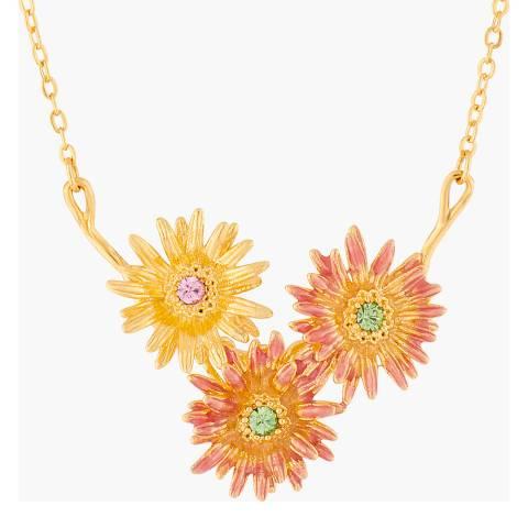 Les Néréides Gold Fleur D'Amour Pendant Necklace