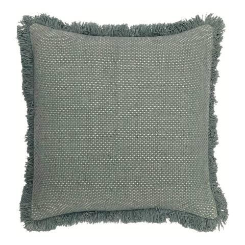 Riva Home Sienna Cushion 45x45cm, Teal