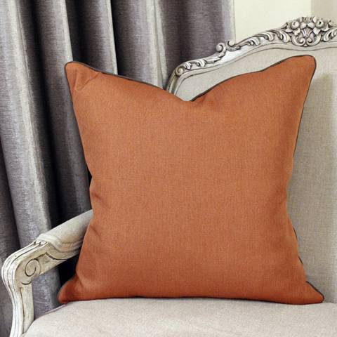 Paoletti Bellucci Cushion 55x55cm, Spice and Mocha