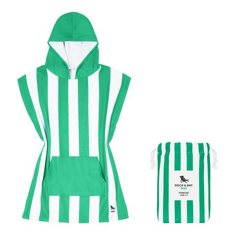 Dock & Bay Toddlers Poncho, Green