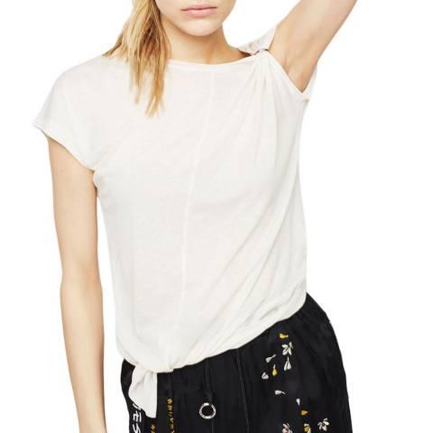 Diesel White T-Millie Short Sleeve Top