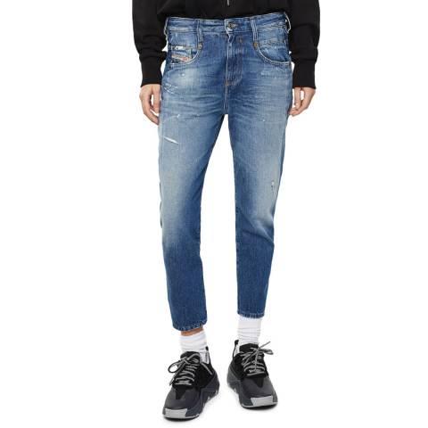 Diesel Blue D-Fayza Boyfriend Jeans
