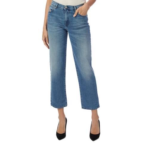 Diesel Blue Niclah Straight Stretch Jeans