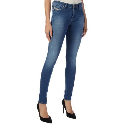Diesel Blue Skinzee-XP Skinny Stretch Jeans