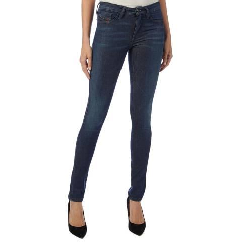 Diesel Indigo Skinzee-XP Skinny Stretch Jeans
