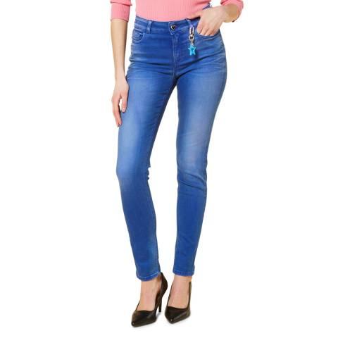 Twinset Mid Blue Skinny Stretch Jeans