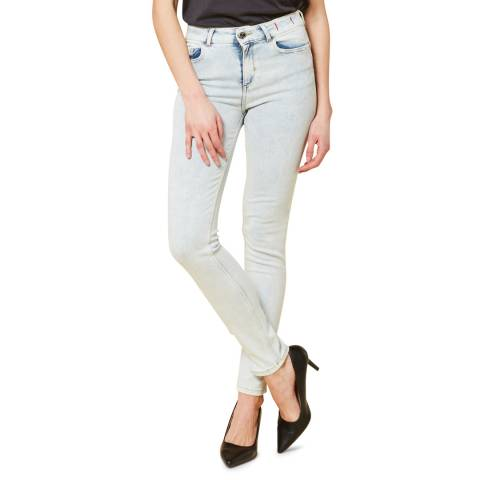 Twinset Light Blue Wash Skinny Stretch Jeans