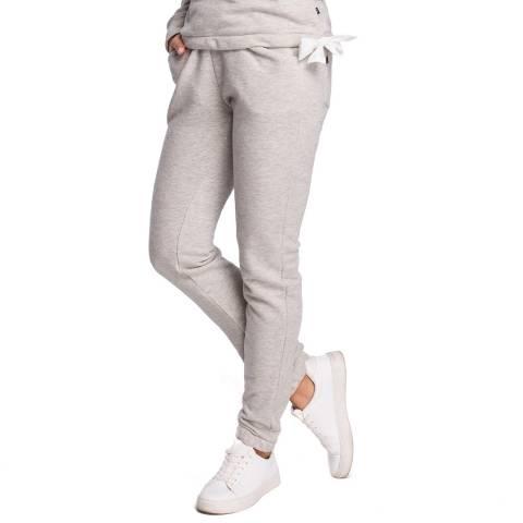 Bewear Light Grey Straight Leg Trousers