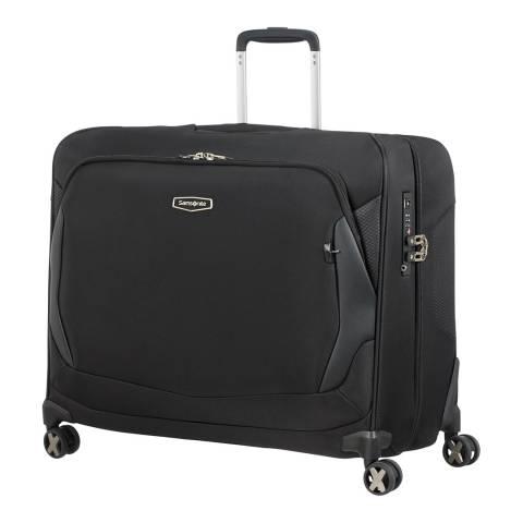 Samsonite Black X′Blade 4.0 Garment Bag with Spinner Wheels