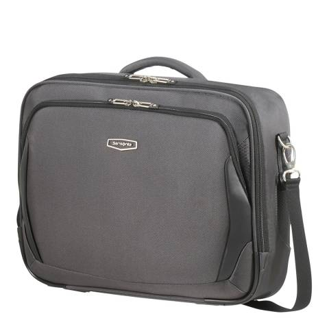 Samsonite Grey X′Blade 4.0 Laptop Shoulder Bag