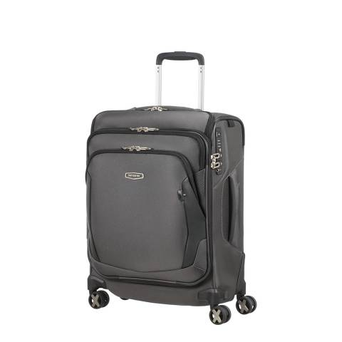 Samsonite Grey X′Blade 4.0 Top Pocket Spinner 55cm