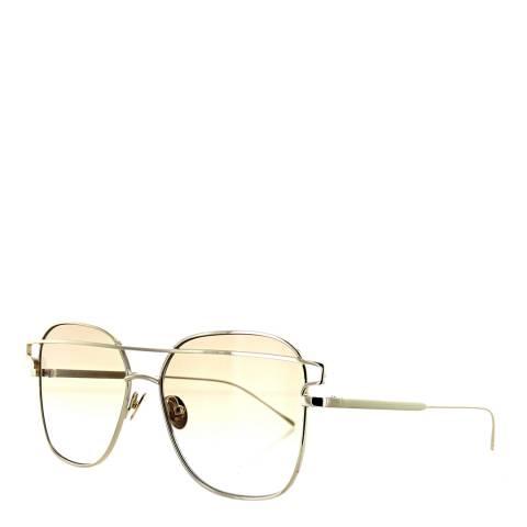 Sunday Somewhere Women's White Gold/Brown Sunglasses 57mm