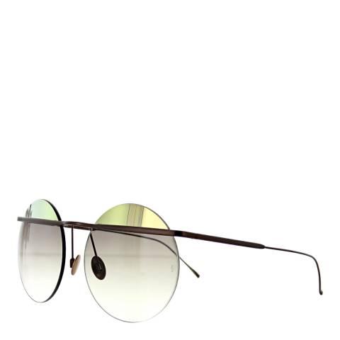 Sunday Somewhere Women's Brown/Gold/Green Sunglasses 57mm