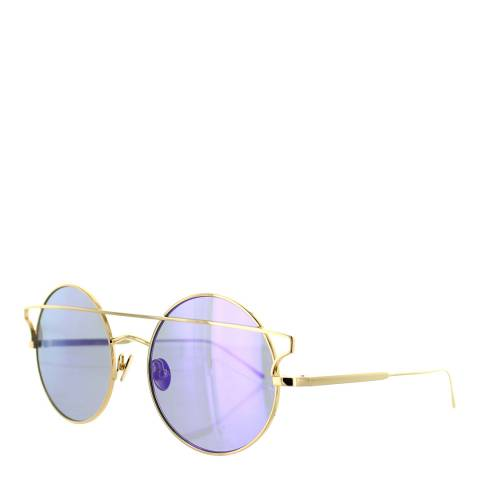 Sunday Somewhere Women's Yellow Gold/Purple Sunglasses 55mm