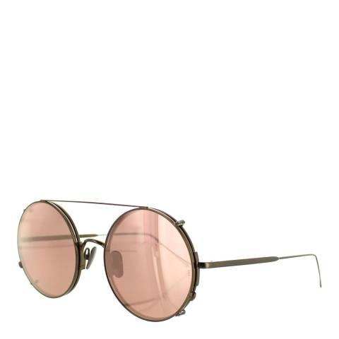 Sunday Somewhere Unisex Rose Gold Sunglasses 53mm