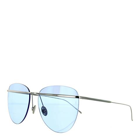 Sunday Somewhere Women's Silver/Sky Blue Sunglasses 58mm