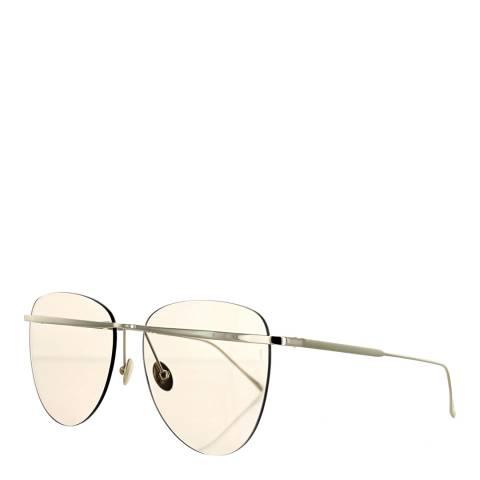 Sunday Somewhere Women's White Gold/Tan Sunglasses 58mm
