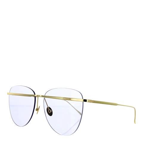Sunday Somewhere Women's Gold/Transparent Purple Sunglasses 58mm