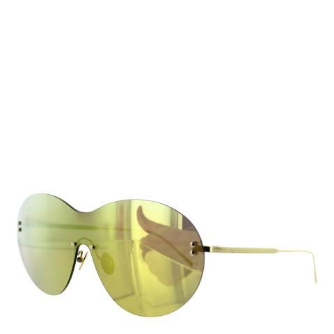 Sunday Somewhere Women's Yellow Gold Sunglasses 135mm