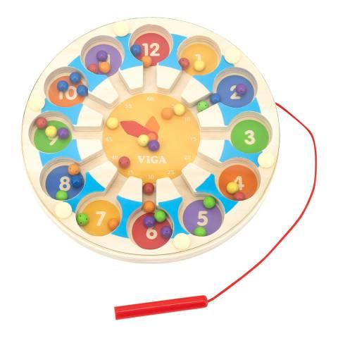 Viga Toys Magnetic Bead Trace - Clock