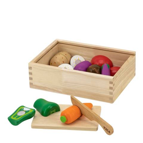 Viga Toys Cutting Meal - Lunch Box