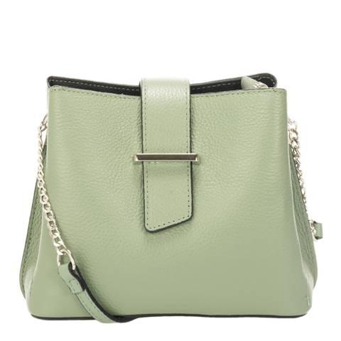 SCUI Studios Mint Leather Crossbody Bag