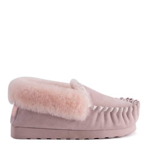 Aus Wooli Pale Pink Waterloo Moccasin