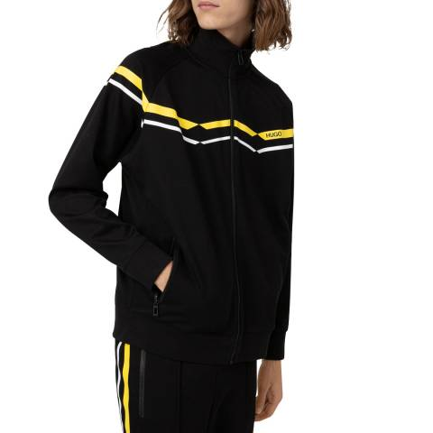 HUGO Black Duxi Zipped Sweatshirt
