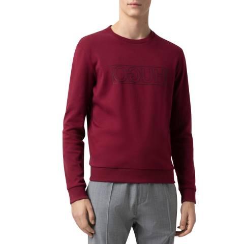 HUGO Red Dicago Cotton Sweatshirt