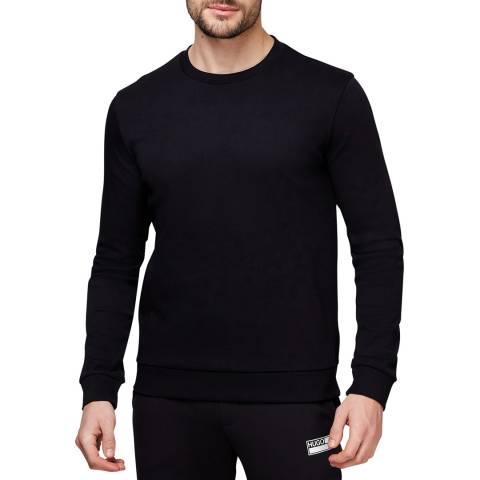 HUGO Black Diky Cotton Sweatshirt